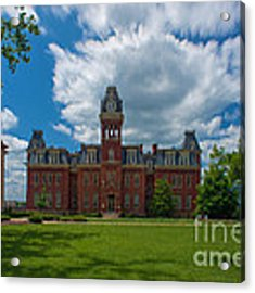 Woodburn Hall Summer Paintography Acrylic Print by Dan Friend