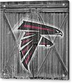 Atlanta Falcons Acrylic Print by Joe Hamilton
