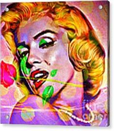 Marilyn Monroe Acrylic Print by Eleni Mac Synodinos