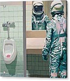 Men's Room Acrylic Print