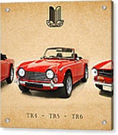 Triumph Tr Series Acrylic Print