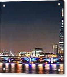 London Acrylic Print by Songquan Deng