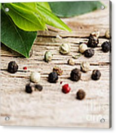 Kitchen Herbs Acrylic Print