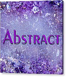 Abstract Gallery Cover Acrylic Print by Donna Proctor