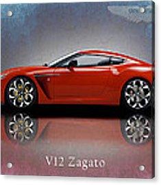 Aston Martin V12 Zagato Acrylic Print
