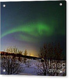 Aurora Borealis Acrylic Print by Arik Baltinester