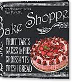 Bake Shoppe Acrylic Print by Debbie DeWitt