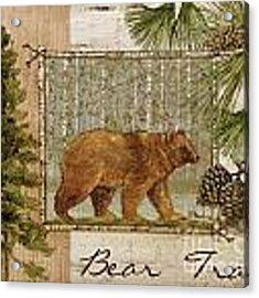 Bear Trail Acrylic Print by Paul Brent
