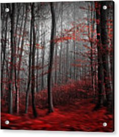 Bloody River Acrylic Print