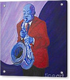 Blue Note Acrylic Print by Dwayne Glapion