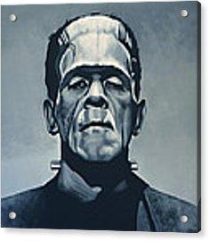 Boris Karloff As Frankenstein  Acrylic Print