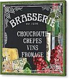 Brasserie Paris Acrylic Print