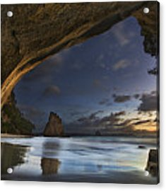Cathedral Cove Acrylic Print
