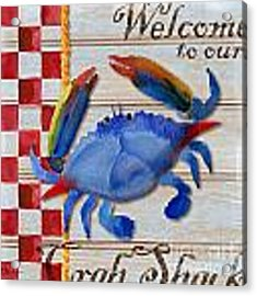 Chesapeake Crab Acrylic Print
