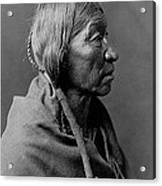 Cheyenne Indian Woman Circa 1910 Acrylic Print by Aged Pixel