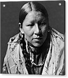 Cheyenne Young Woman Circa 1910 Acrylic Print by Aged Pixel