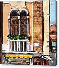 Classic Venice Acrylic Print by TM Gand