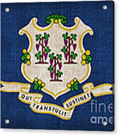Connecticut State Flag Acrylic Print