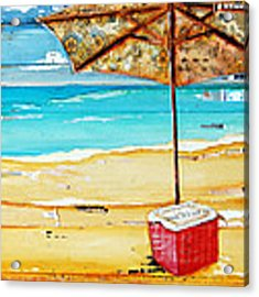 Cool Off Acrylic Print by Danny Phillips