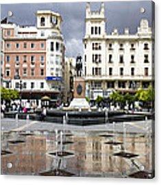 Cordoba Spain City Centre Acrylic Print by Nathan Rupert