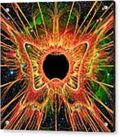 Cosmic Butterfly Phoenix Acrylic Print by Shawn Dall