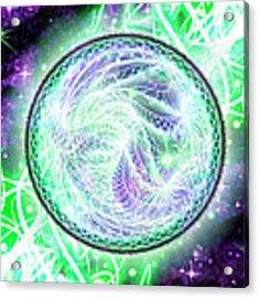 Cosmic Lifestream Acrylic Print by Shawn Dall