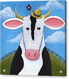 Cow Nursery Wall Art Acrylic Print