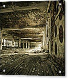 Crumbling History Acrylic Print by Priya Ghose