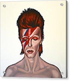 David Bowie Aladdin Sane Acrylic Print