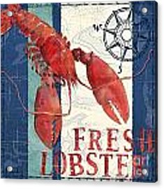 Deep Sea Lobster Acrylic Print