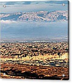 Desert Panorama Acrylic Print by Arik Baltinester