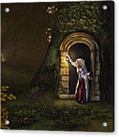 Door To The Underworld Acrylic Print by Bob Nolin