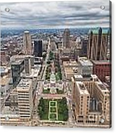 Downtown St Louis Old Courthouse Acrylic Print by Sophie Doell