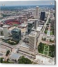 Downtown St Louis Acrylic Print by Sophie Doell