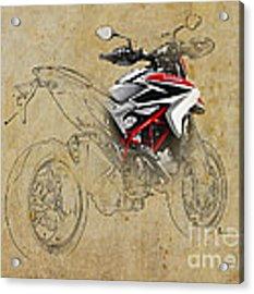 Ducati Xii Acrylic Print