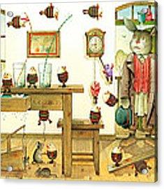 Eastereggs 01 Acrylic Print by Kestutis Kasparavicius