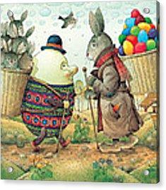 Eastereggs 03 Acrylic Print by Kestutis Kasparavicius