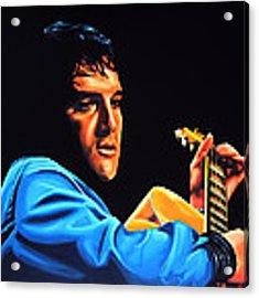 Elvis Presley 2 Painting Acrylic Print