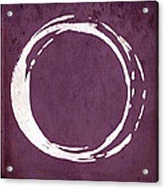 Enso No. 107 Magenta Acrylic Print