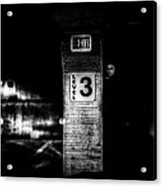 Exit Level 3 Acrylic Print by Bob Orsillo