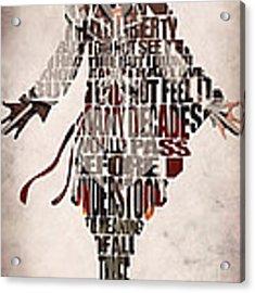 Ezio Auditore Da Firenze From Assassin's Creed 2  Acrylic Print