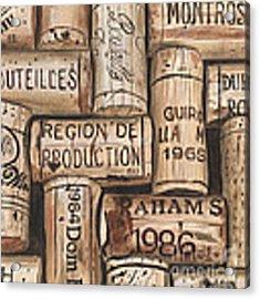 French Corks Acrylic Print