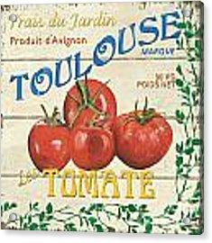 French Veggie Sign 3 Acrylic Print
