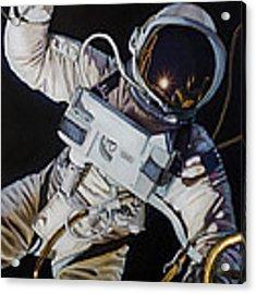 Gemini Iv- Ed White Acrylic Print by Simon Kregar