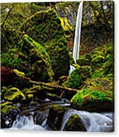 Green Seasons Acrylic Print