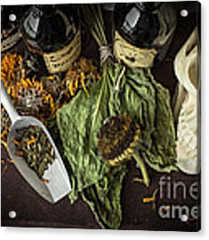 Halloween Still Life Acrylic Print