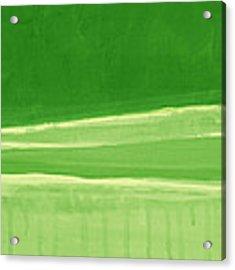 Harmony In Green Acrylic Print by Linda Woods