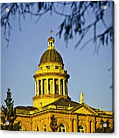 Historic Auburn Courthouse 5 Acrylic Print by Sherri Meyer