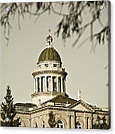 Historic Auburn Courthouse 6 Acrylic Print by Sherri Meyer