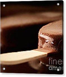 Ice Cream Chocolate Bar Acrylic Print by Johan Swanepoel